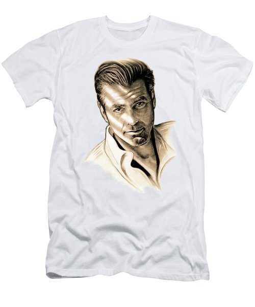 George Clooney Men's T-Shirt (Slim Fit)