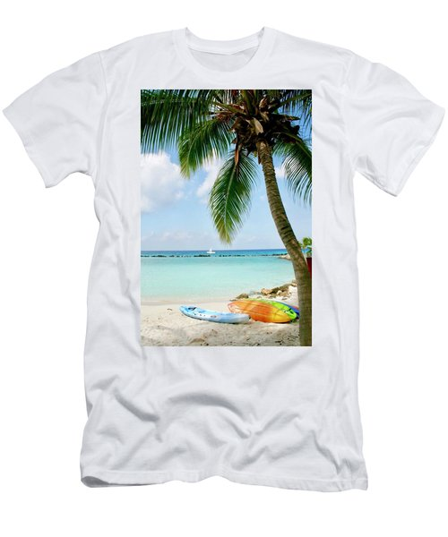 Aruban Oasis Men's T-Shirt (Athletic Fit)