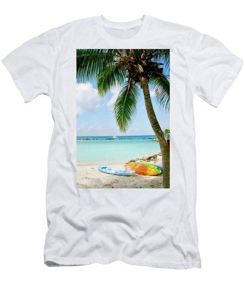 Aruban Oasis Men's T-Shirt (Athletic Fit)