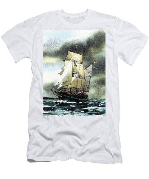 F  758  Asgard 11 Often Sailed Along The Wild Atlantic Way Men's T-Shirt (Athletic Fit)