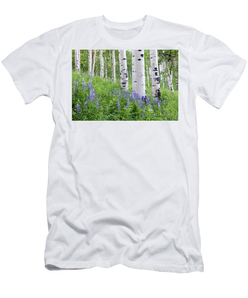 Aspen And Lupine Men's T-Shirt (Athletic Fit)