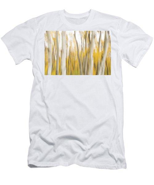 Men's T-Shirt (Athletic Fit) featuring the photograph Aspens 2 by Alex Lapidus