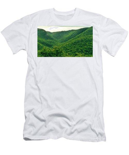 Aspy Valley 1 Men's T-Shirt (Athletic Fit)