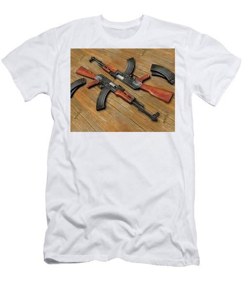 Assault Rifle Men's T-Shirt (Athletic Fit)