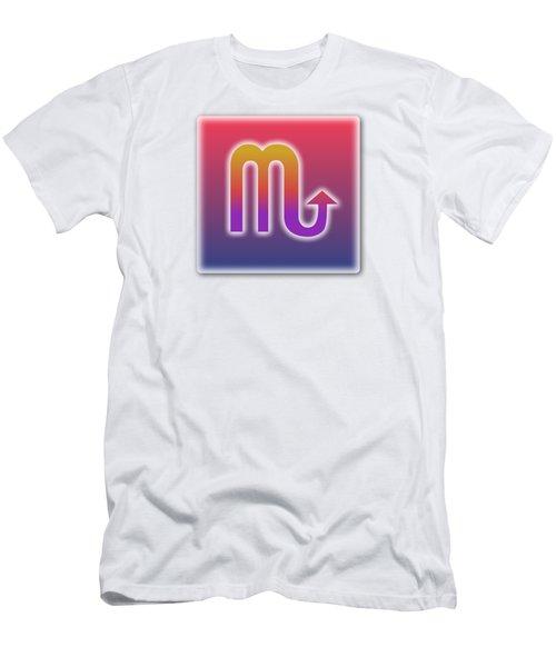 Scorpio Sun Sign Astrology  Men's T-Shirt (Athletic Fit)