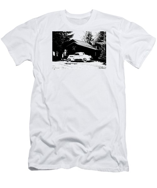 At The Cabin Men's T-Shirt (Athletic Fit)