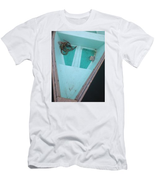 At The Dock Men's T-Shirt (Slim Fit) by Olivier Calas
