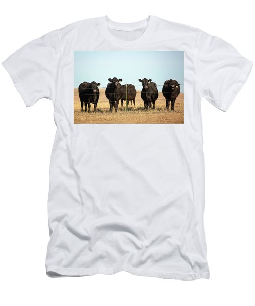 At The Fence Men's T-Shirt (Athletic Fit)