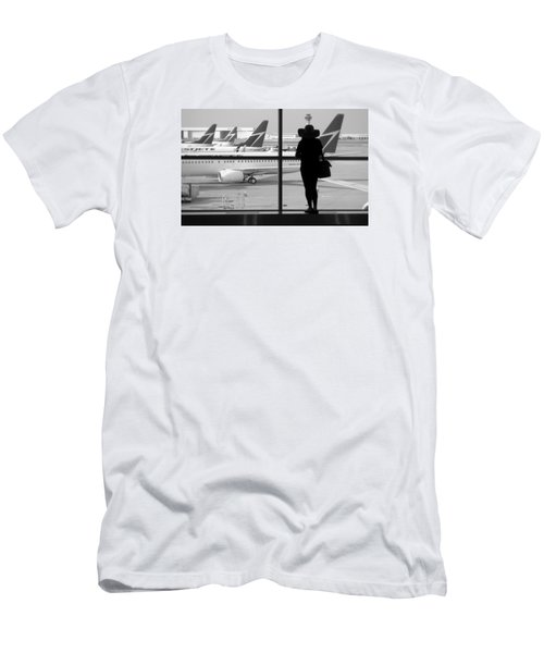 At The Gate Men's T-Shirt (Slim Fit) by Valentino Visentini