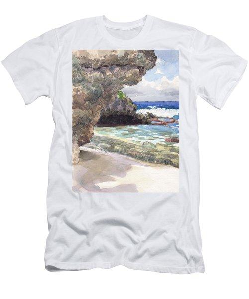 Atiu, Tumai Beach Men's T-Shirt (Athletic Fit)