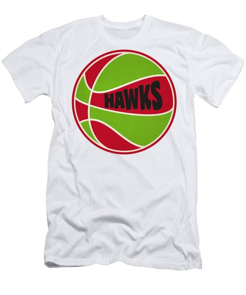 Atlanta Hawks Retro Shirt Men's T-Shirt (Slim Fit) by Joe Hamilton