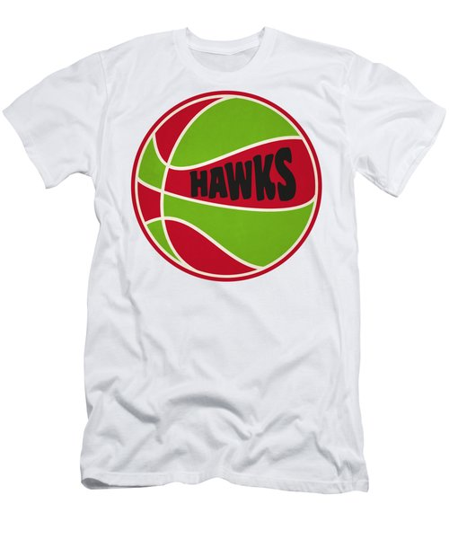 Atlanta Hawks Retro Shirt Men's T-Shirt (Athletic Fit)
