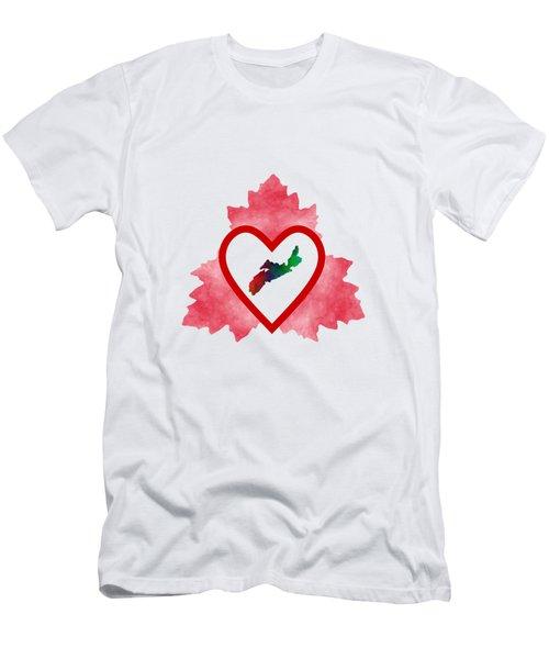 Atlantic Canada - Nova Scotia Men's T-Shirt (Athletic Fit)