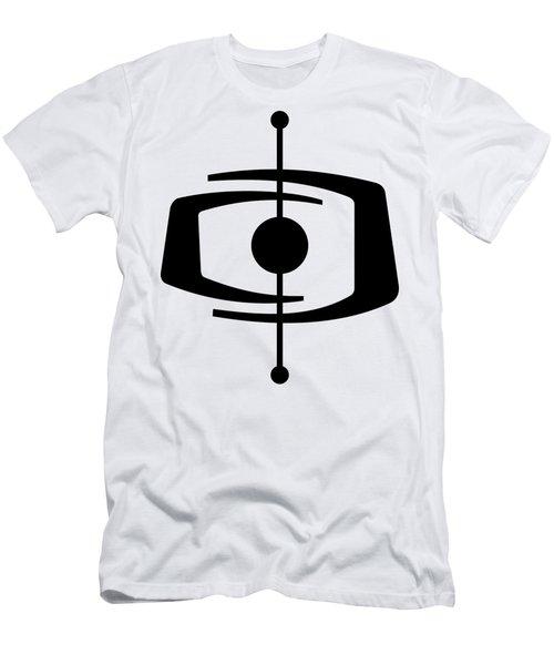 Atomic Shape 1 Transparent Men's T-Shirt (Athletic Fit)