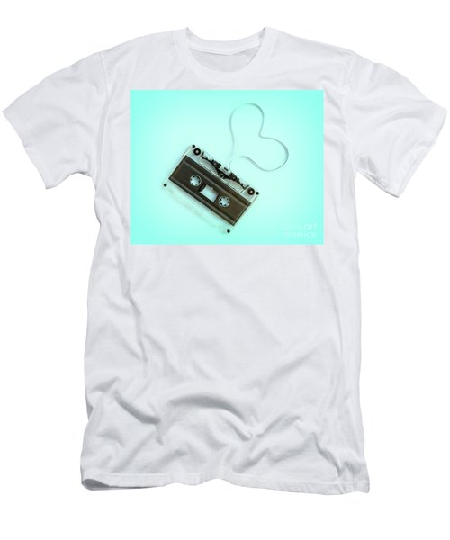 Audio Cassette Love Men's T-Shirt (Athletic Fit)