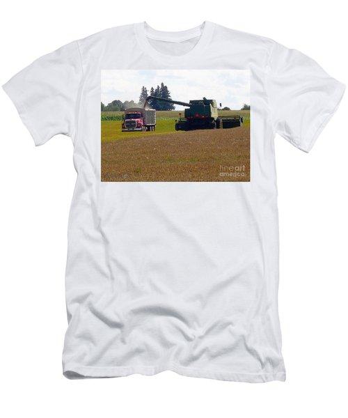 August Harvest Men's T-Shirt (Slim Fit) by J McCombie