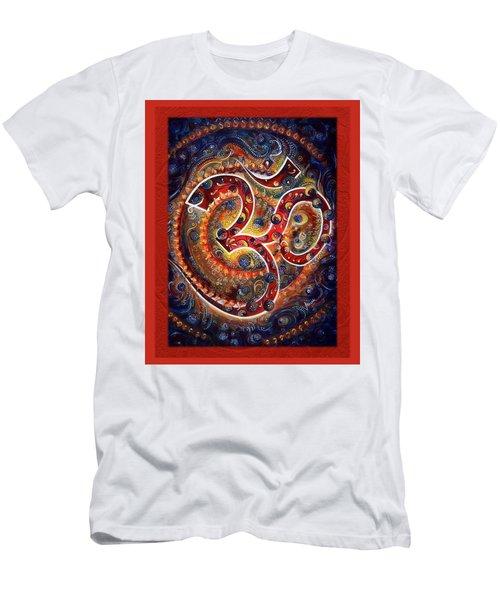 Aum - Vibrations Of Supreme Men's T-Shirt (Athletic Fit)