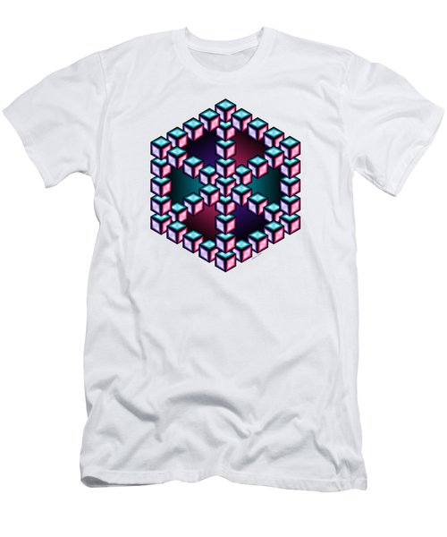 Aurelia Cube 2 Men's T-Shirt (Athletic Fit)