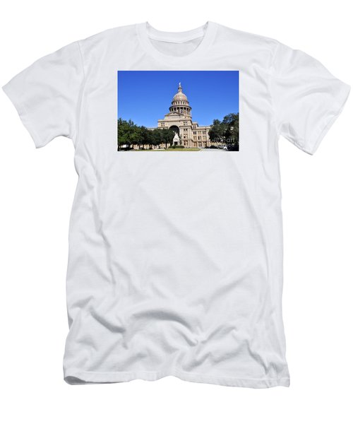 Austin State Capitol Men's T-Shirt (Athletic Fit)