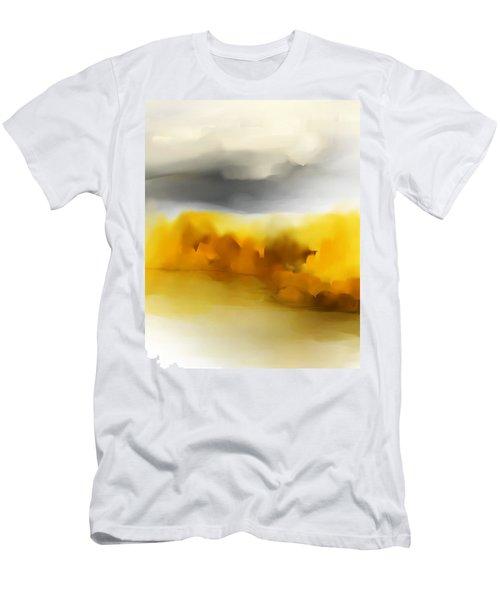 Autumn Along The River Men's T-Shirt (Athletic Fit)