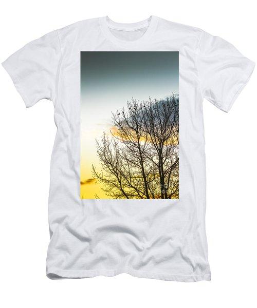 Autumn And Dusk  Men's T-Shirt (Athletic Fit)