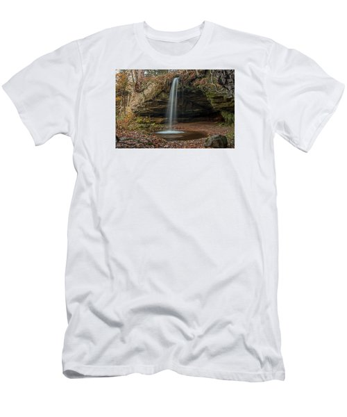 Autumn At Scott Falls Men's T-Shirt (Athletic Fit)