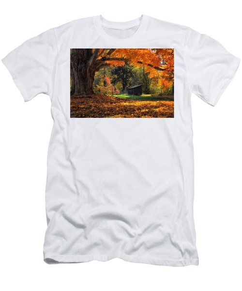 Autumn Brilliance Men's T-Shirt (Athletic Fit)