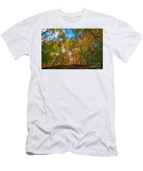 Autumn Colors  Men's T-Shirt (Athletic Fit)