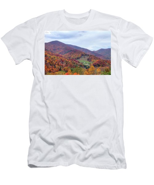 Autumn Farm Men's T-Shirt (Athletic Fit)