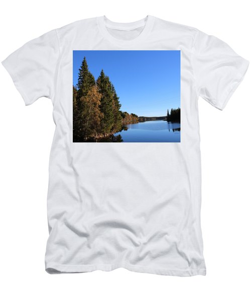 Autumn In Europe  Men's T-Shirt (Athletic Fit)