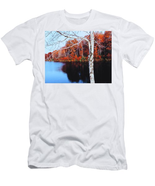 Autumn Lake Men's T-Shirt (Athletic Fit)