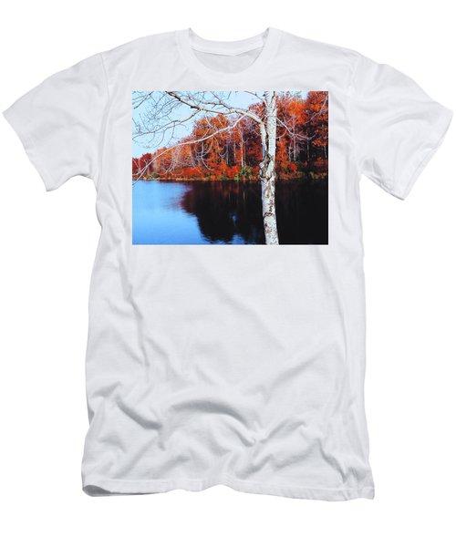 Autumn Lake Men's T-Shirt (Athletic Fit)