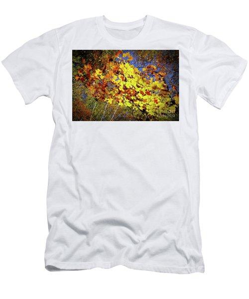 Men's T-Shirt (Slim Fit) featuring the photograph Autumn Light by Tatsuya Atarashi