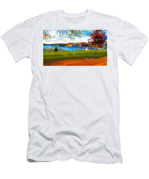 Autumn On Lake Charlevoix Men's T-Shirt (Athletic Fit)