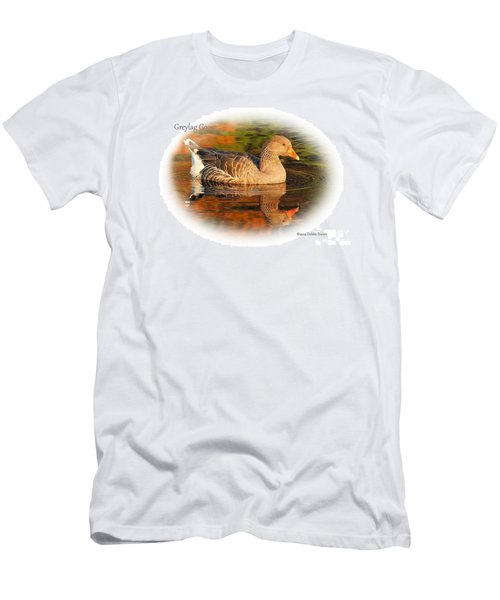 Men's T-Shirt (Slim Fit) featuring the photograph Autumn Reflection by Debbie Stahre