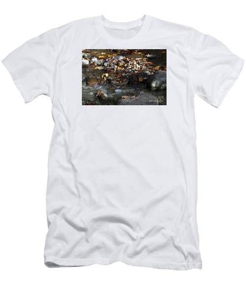 Men's T-Shirt (Slim Fit) featuring the drawing Autumn Soup by Diane E Berry