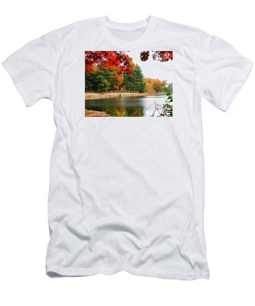 Autumn View Men's T-Shirt (Athletic Fit)