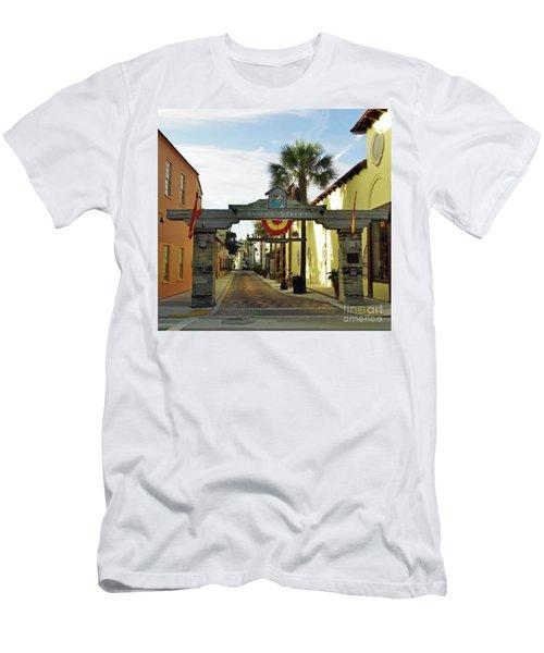 Aviles Street Men's T-Shirt (Athletic Fit)