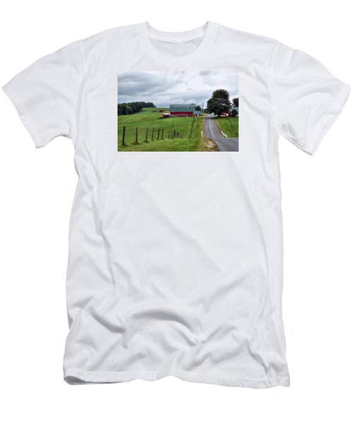 Ayrhill Farm No. 1 - The Berkshires Men's T-Shirt (Athletic Fit)
