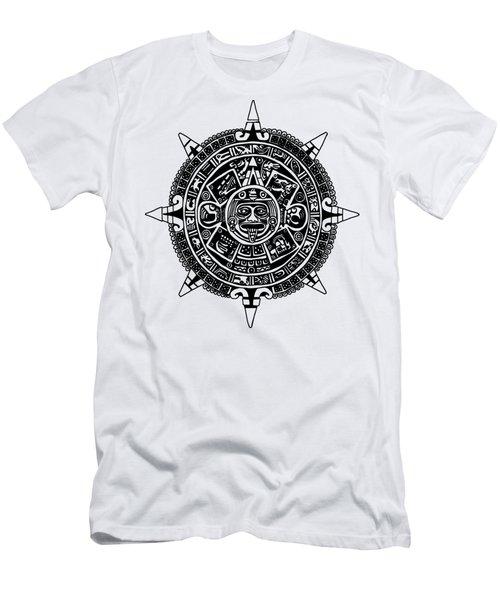 Aztecs Calendar Men's T-Shirt (Athletic Fit)