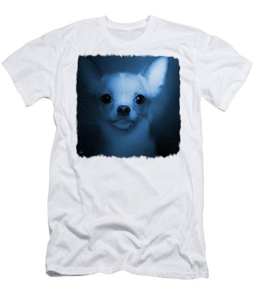 Azul - Chihuahau Blues Men's T-Shirt (Athletic Fit)