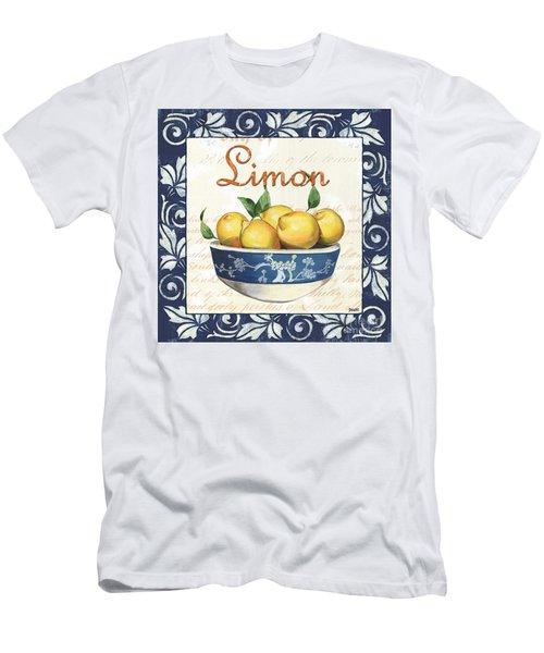 Azure Lemon 3 Men's T-Shirt (Athletic Fit)