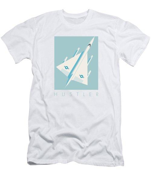 B-58 Hustler Supersonic Jet Bomber - Sky Men's T-Shirt (Athletic Fit)