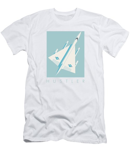 B-58 Hustler Supersonic Jet Bomber - Sky Men's T-Shirt (Athletic Fit)