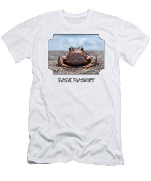 Babe Magnet - Blues Men's T-Shirt (Athletic Fit)