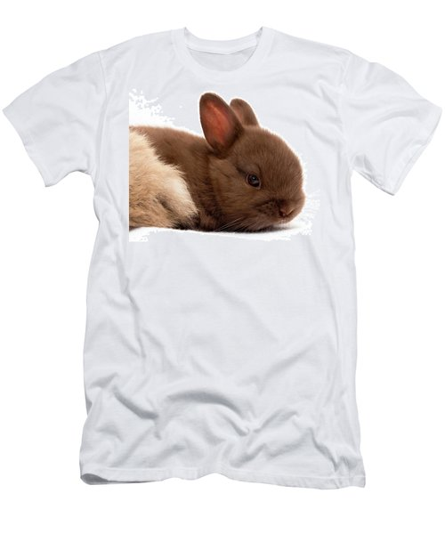 Baby Bunny  #03074 Men's T-Shirt (Athletic Fit)