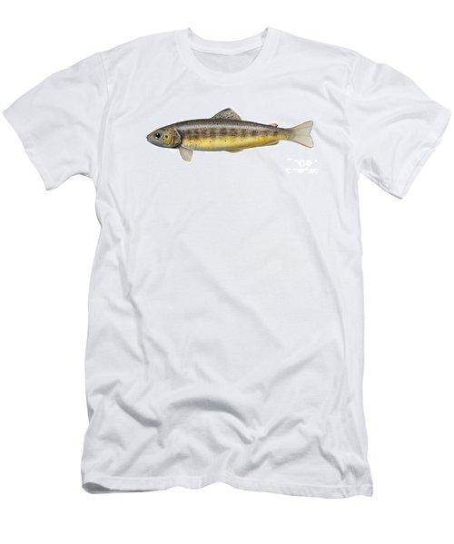Bachforelle - Indigene - Autochthone- Beekforel - Oering - Truite De Riviere - Trucha Comun Men's T-Shirt (Athletic Fit)
