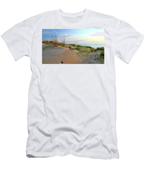 Back Bay Dunes Men's T-Shirt (Athletic Fit)