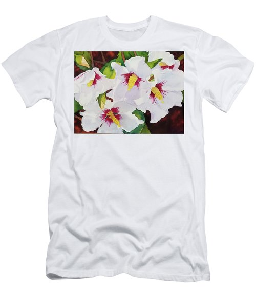Backyard Blooms Men's T-Shirt (Athletic Fit)