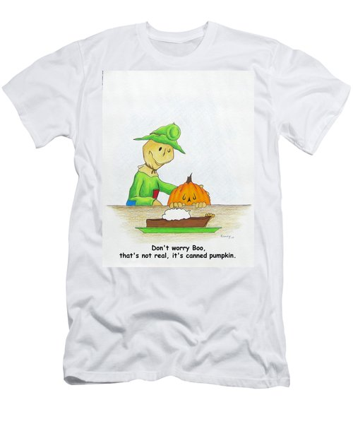 Baggs And Boo Canned Pumpkin Men's T-Shirt (Athletic Fit)